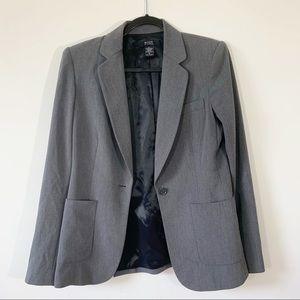 Body by Victoria . Gray Blazer Jacket . 10